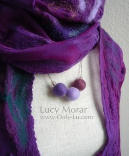 The Felt Bead Necklace