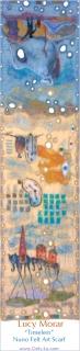 Timeless / Nuno Felt Art Scarf